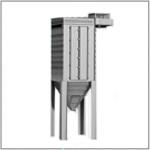 Фильтр рукавный ФРО-650-01 с обратной продувкой