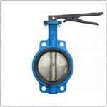 Затвор дисковый чугунный Огниво (с диском из нержавеющей стали)