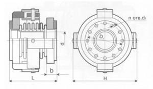 Компенсатор К010-10-Т33