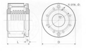 Компенсатор сдвиговый поворотный К011-16-Т19