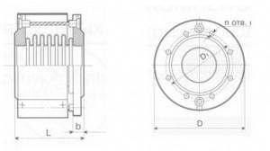 Компенсатор сдвигово-повортный К011-6,3-Т14,-К011-10-Т15