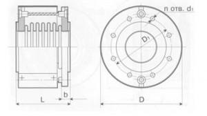 Компенсатор сдвиговый К011-6,3-Т17