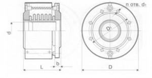 Компенсатор К011-6,3-Т26