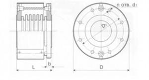 Компенсатор поворотный сдвиговый К011-6,3-Т34