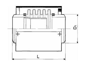 Компенсатор К111-1,0-Т5 универсальный