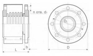 Компенсатор К111-2,5-Т11 универсальный