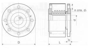 Универсальный компенсатор К111-2,5-Т3
