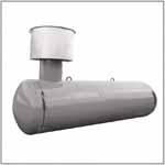 Емкости РПГ Резервуары горизонтальные подземные для хранения и выдачи сжиженного пропана и бутана для газовых АЗС, типа РПГ