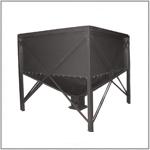 Металлический бункер для пеллет