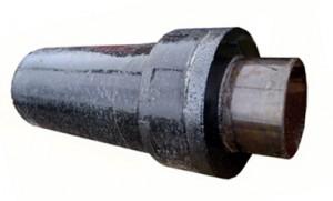 Труба изолированная ППУ с металлической заглушкой