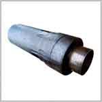 Труба ППУ с металлической заглушкой изоляции