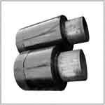 Заглушка металлическая изоляции труб ППУ
