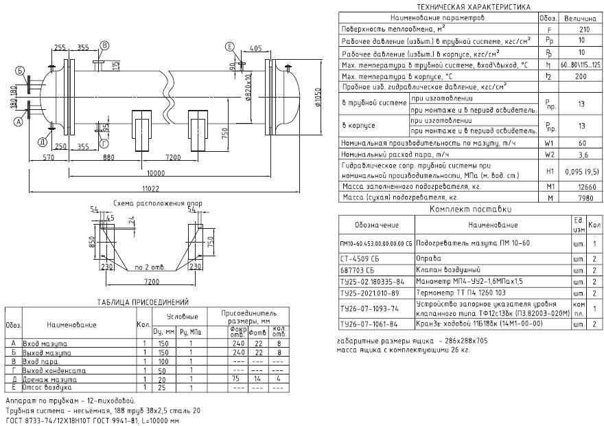 Кожухотрубный конденсатор ONDA CT 10 Калуга Паяный теплообменник испаритель GEA CHAF 30-UM Хабаровск