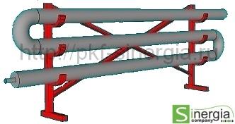 Секционный теплообменник с нагревательным элементом независимая схема гвс через теплообменник
