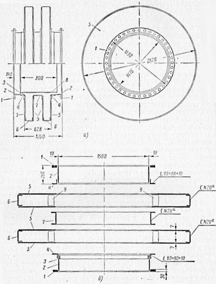 Чертеж дискового компенсатора, схема сборки дискового компенсатора
