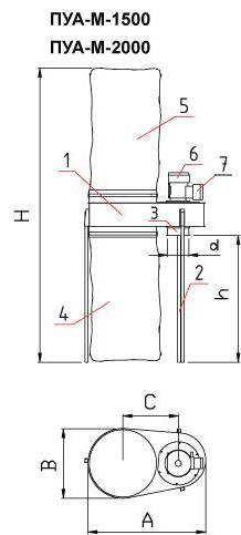 ПУА-М-1500 схема