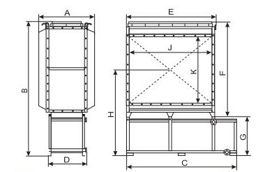 чертеж-схема фильтра РИФ