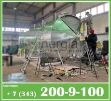 Емкость с теплогидроизоляцией в оцинкованной стали