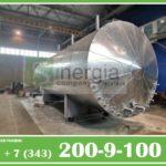 Емкости в оцинкованной стали и теплогидроизоляции