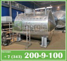 Емкости в оцинкованной стали, тепло и гидроизоляции